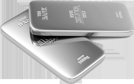 Ankauf von Silberbarren